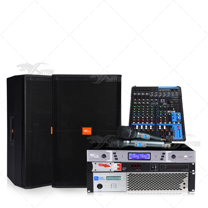 Small Commercial live performance sound system-C